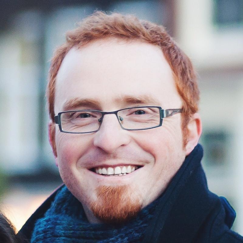 Portrait of Raf Van de Plas